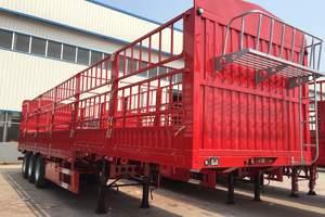 梁山盛源 13米 轻量化 仓栅式运输半挂车 {自重5.9吨,包拉55吨}