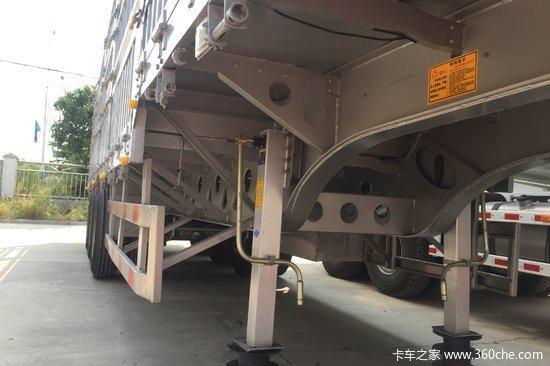 梁山盛源 13米 轻量化 仓栅式运输半挂车上装 {自重5.9吨,包拉55吨}