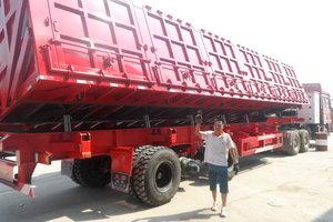 梁山盛源 13米 轻量化 自卸式运输半挂车