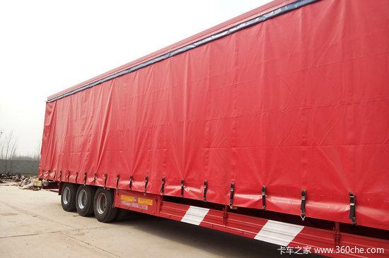 梁山盛源 15米(48英尺) 轻量化 集装箱骨架式运输半挂车