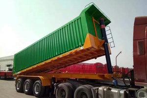 梁山长虹  8.5米 轻量化  集装箱式后翻自卸半挂车